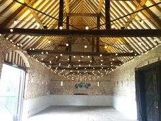 Monks Barn Hurley Warm White Festoon Canopy