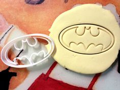 Batman Logo Cookie Cutter great for cutting Bread, Cheese, Soft fruit and more