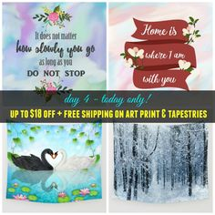 Today only (2/21)! - #sale #deals Up to $18 off #artprints & #walltapestries + #freeshipping #worldwide on those products. Check more #homedecor #roomdecor at society6.com/julianarw