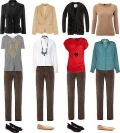 ladies outfits with dark brown pants - Google Search