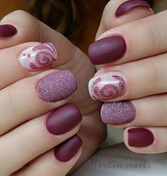 25 Cool Matte Nail Designs to Copy in 2017 | Page 3 of 3 | StayGlam