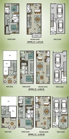 Cargo Container House Plans | Sawyer Brownstones [Terramark Homes]......I cant find the original website these originated from?? Help..
