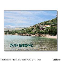 briefkaart voor Zaton near Dubrovnik, Kroatië