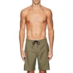 Outerknown Men's Nomadic Swim Trunks ($65) ❤ liked on Polyvore featuring men's fashion, men's clothing and men's swimwear