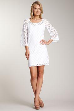 Muse Lace Dress w/ Bell Sleeves - http://www.hautelook.com/short/3AL7U