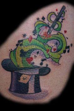 bcd67ce91 magic hat tattoo - Google Search | For PJ | Pinterest Magic Tattoo, Magic  Hat
