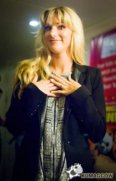 Heather before her interview, In Manila