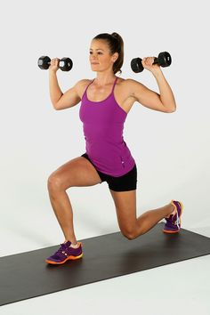 Incinerate Fat and Build Muscle With This Kickass Printable Workout Melt Fat, Build Muscle: Dumbbell Blast Circuit Workout: Add some dumbbells to your fitness routine and build some metabolism-boosting muscle while toning your entire body. Full Body Workouts, Full Body Dumbbell Workout, Fitness Workouts, Fun Workouts, Fitness Tips, Fitness Motivation, Workout Routines, Fitness Weights, Model Workout