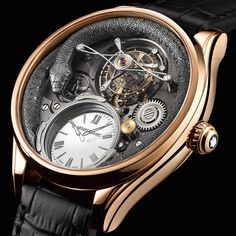Montblanc Collection Villeret Tourbillon Bi-Cylindrique 110 Years Anniversary @DestinationMars