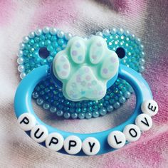 Boy Pacifier, Baby Binky, Bling Pacifier, Ddlg Pacifier, Ddlg Little, Little My, Daddys Girl Quotes, Daddy Kitten, Daddys Little Princess
