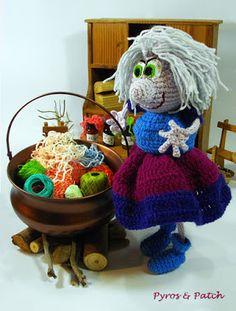 Maga Magò a crochet rolllllll