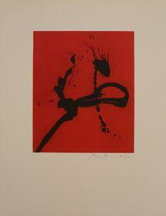 """Robert Motherwell - """"Gesture"""""""