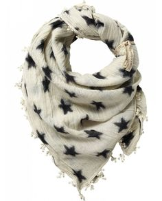Big scarf with fringes - Accessories - Scotch & Soda Online Shop