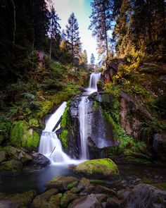 Triberg Waterfall Black Forest Germany [OC] [11841482] #reddit