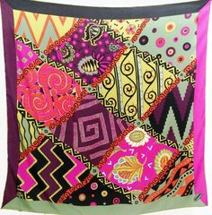 Wearing Scarves, How To Wear Scarves, Missoni, Salvatore Ferragamo, Quilts, Blanket, Cards, Silk, Quilt Sets