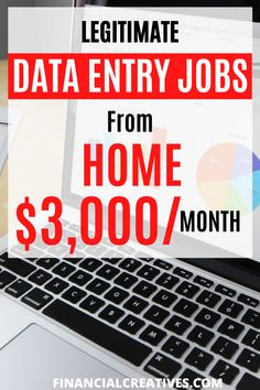 Data entry requires very little specific knowledge, so it's fairly easy to get started with one of these jobs from home. Being a data entry operator also doesn't require a particular educational or professional backgrounddata entry jobs from home, data enty jobs work from home, data entry jobs online, data entry jobs near me. #bestdataentryjobs #dataentryjobsfromhome #dataentryjobs #onlinedataentryjobs Online Data Entry Jobs, Online Jobs, Best Part Time Jobs, Jobs For Teachers, Job Work, Home Jobs, College Students, Extra Money, Get Started