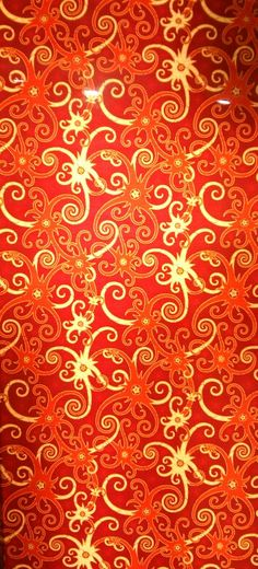 indonesia orange batik