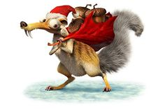 Ice Age A Mammoth Christmas scrat is my favorite poor guy