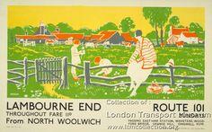 Lambourne End ~ Dorothy Paton