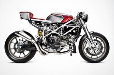 Ducati 749 Cafe Racer custom