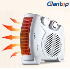 Glantop 220 V Calentador Eléctrico De Aire Caliente Calentador Eléctrico Calentador de Aire Del Ventilador Mini Ventilador De La Habitación LD0021
