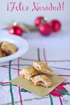 Cocina con Angi: Hojaldre con mermelada de pimientos y brie #Navidad