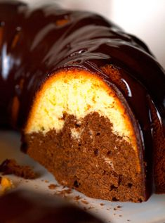 Looking for Fast & Easy Cake Recipes, Dessert Recipes! Recipechart has over free recipes for you to browse. Find more recipes like Five Ingredient Swirl Bundt Cake with Chocolate Ganache. Easy Cake Recipes, Dessert Recipes, Chocolate Ganache Tart, Chocolate Swirl, Chocolate Cupcakes, Chocolate Lovers, Caterpillar Cake, Classic Cake, Five Ingredients