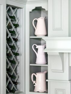Elegant Kitchen Storage