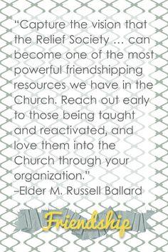 February Visiting Teaching Message Handout #LDS