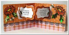 If Friends Were Flowers! created by Frances Byrne using Elizabeth Craft Designs Dies: Katie Label Pivot Card (Designed by Karen Burniston; Garden Bench Pop Up (Designed by Karen Burniston); Daisy; Bees