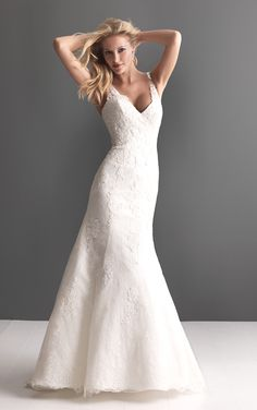 I found this at @nearlynewlywed bridal boutique #wedding...I loveeeee the back & straps!