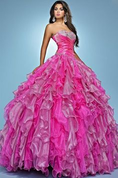 the ultimate prom dress. I admit it would fun to wear this for a day