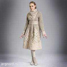 Пальто льняное двухстороннее - Арт. 15ф-304 - Волтри (рис. 1)