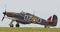 A Hawker Hurricane as it would have looked during the Battle of Britain. (Copyright Kai Hansen)