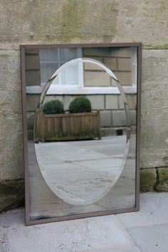 An Original and Exclusive Looking Glass of Bath Design. A very stylish simple wall mirror that can be hung either portrait or landscape. Size shown x - Can also be made in any number of sizes with a rectangular or oval bright central mirror. Contemporary Mirrors, Background Vintage, Bath Design, Wall Mirror, Somerset, Oversized Mirror, Bright, Number, Landscape