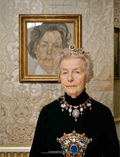 Debo - Duchess of Devonshire.  Photo by Francois Halard.
