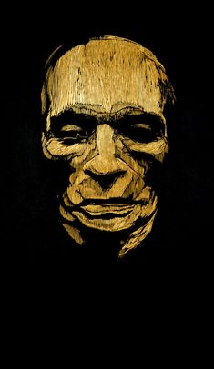 Beethoven's Death Mask by Barry Moser - Early Work & Woodcuts | R. Michelson Galleries