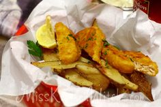 The Three Broomsticks Gardein Fish and Chips - Vegan Harry Potter recipes via http://MissKitchenWitch.com