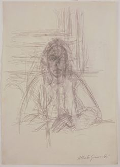 The Art History Journal: Alberto Giacometti - Drawings