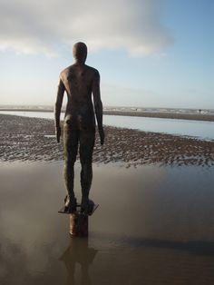 Gormley Statues, Liverpool