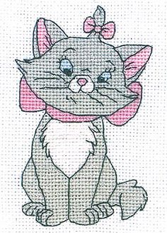 Afbeeldingsresultaat voor aristocats cross stitch Aristocats, String Art, Smurfs, Hello Kitty, Cross Stitch, Diy Crafts, Disney, Fictional Characters, Ornaments