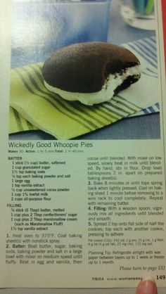 Wicked good whoopie pie