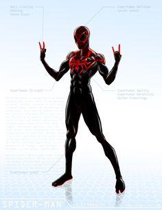 Spider-Man / Miles Morales - OG Marvel remix DB by ogi-g.deviantart.com on @DeviantArt