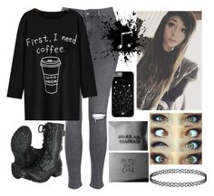 """""""Untitled #180"""" by nerdgirl070 ❤ liked on Polyvore featuring Topshop"""