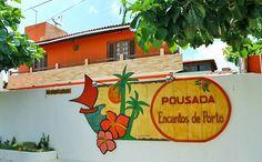 Pacotes a partir de R$ 89 na Pousada Encantos de Porto #groupon #viagem #pacotes #portodegalinhas