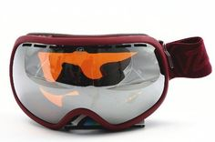 Von Zipper Fishbowl Snow Goggle,Oxblood Satin Frame/Amber Chrome Lens,One Size by Vonzipper. $127.95. NEW for 2012 this Goggle has an oversized frame for the ultimate peripheral experience and fits large framed face. Save 15% Off!