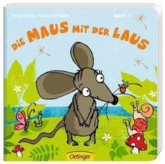 Die Maus mit der Laus als Buch