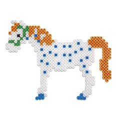 Pippi pearlset 2000 pcs | Micki leksaker Fuse Bead Patterns, Beading Patterns, Cross Stitch Patterns, Fuse Beads, Perler Beads, Diy And Crafts, Crafts For Kids, Pippi Longstocking, Hama Beads Design