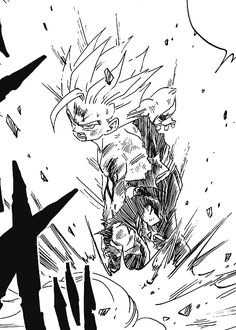 Dbz Manga, Manga Dragon, Manga Art, Gohan Teen, Dragon Ball Z, Concept Art Tutorial, Ball Drawing, Skeleton Art, Anime Art