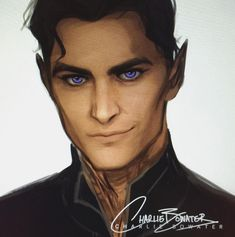 WIP of Rhys by Charlie bowater